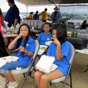 And then there was an awesome lunch prepared by The 'Ewa Beach Lions Club